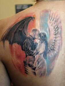 Tattoo gefallener engel bedeutung